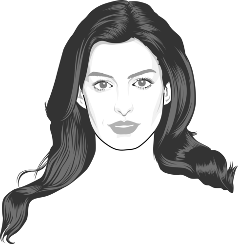 Anne Hathaway Fansite: Caricature By TheCartoonist