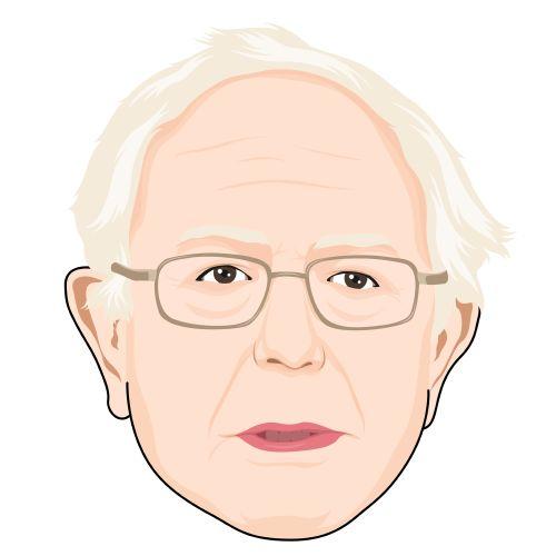 Bernie Sanders, CARTOONIZED!