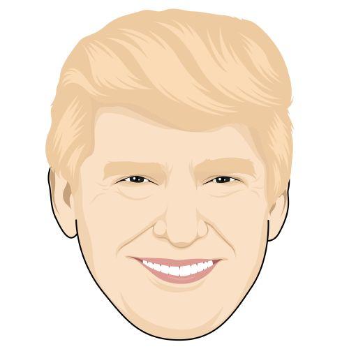 Donald Trump, CARTOONIZED!