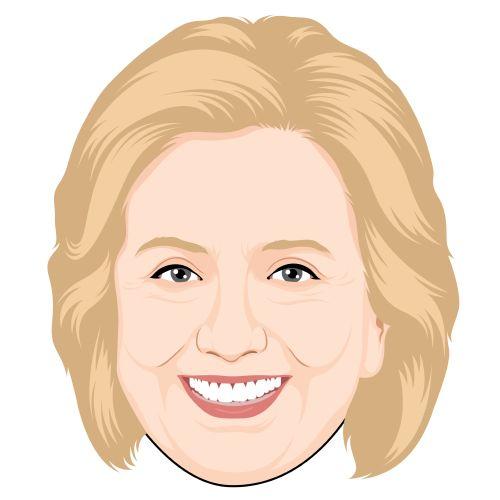 Hillary Clinton, CARTOONIZED!