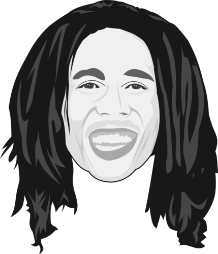 Bob Marley Caricature By Thecartoonist