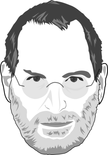 Steve Jobs Caricature By Thecartoonist